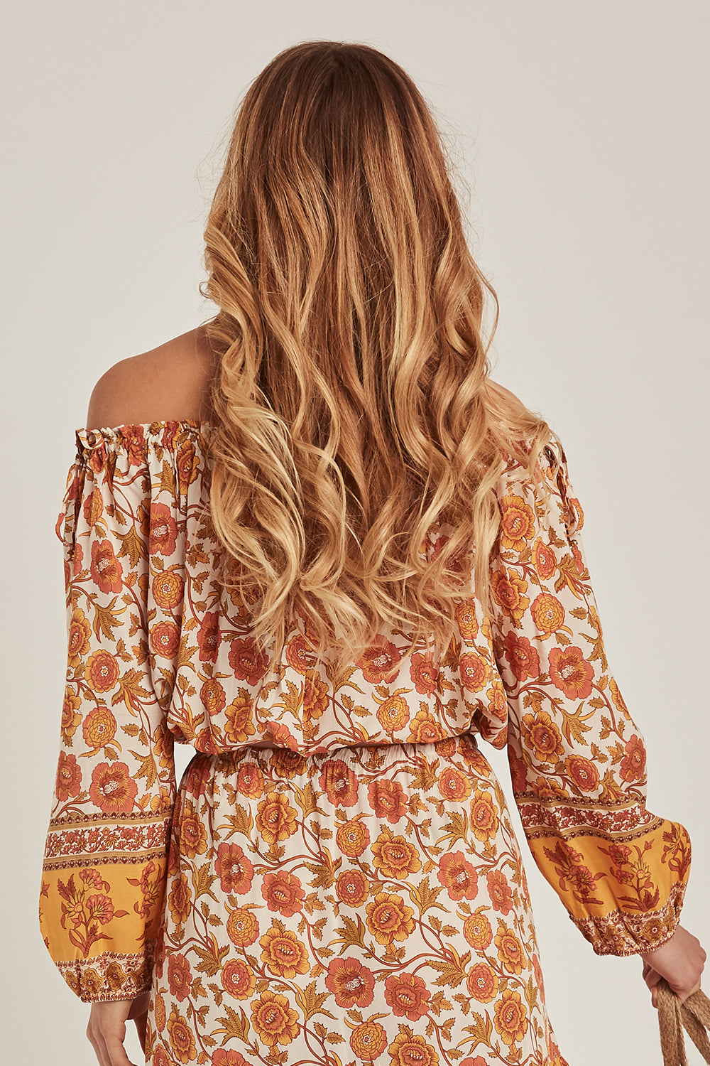 Abigail Off The Shoulder Top in Honey