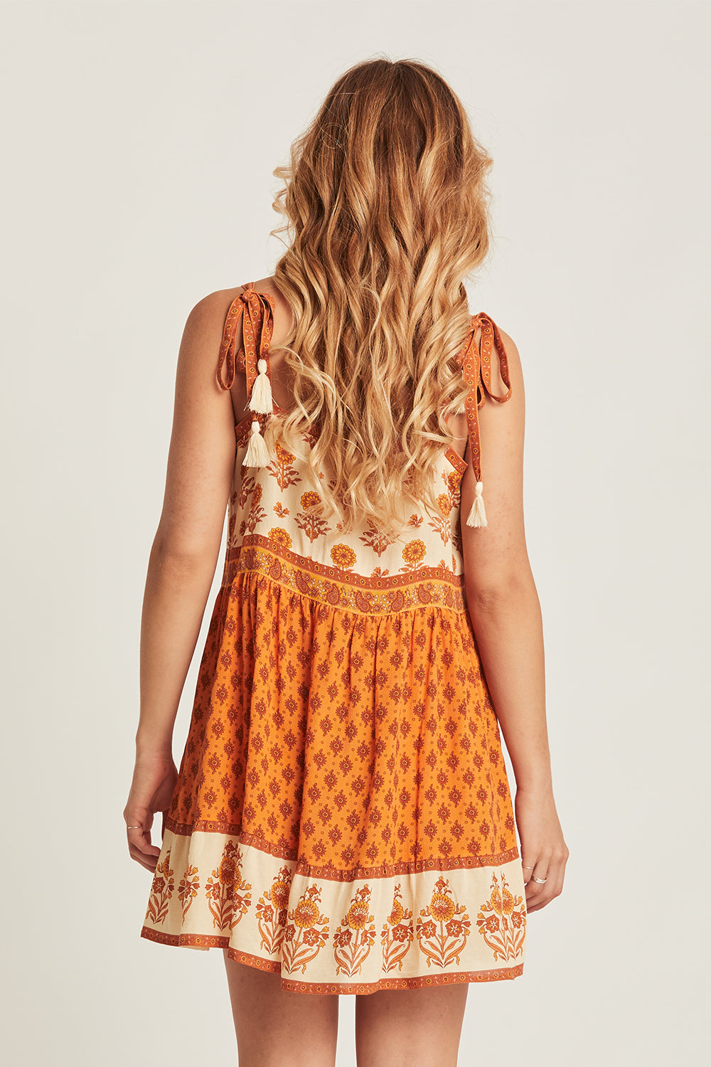 Soriah Mini Dress in Marmalade
