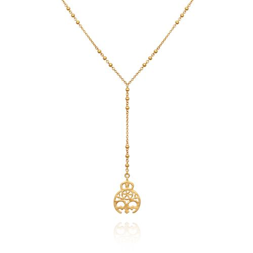 Temple of the Sun ~ Alli Gold Necklace