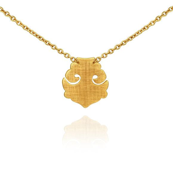 Temple of the Sun ~ Alma Necklace Gold