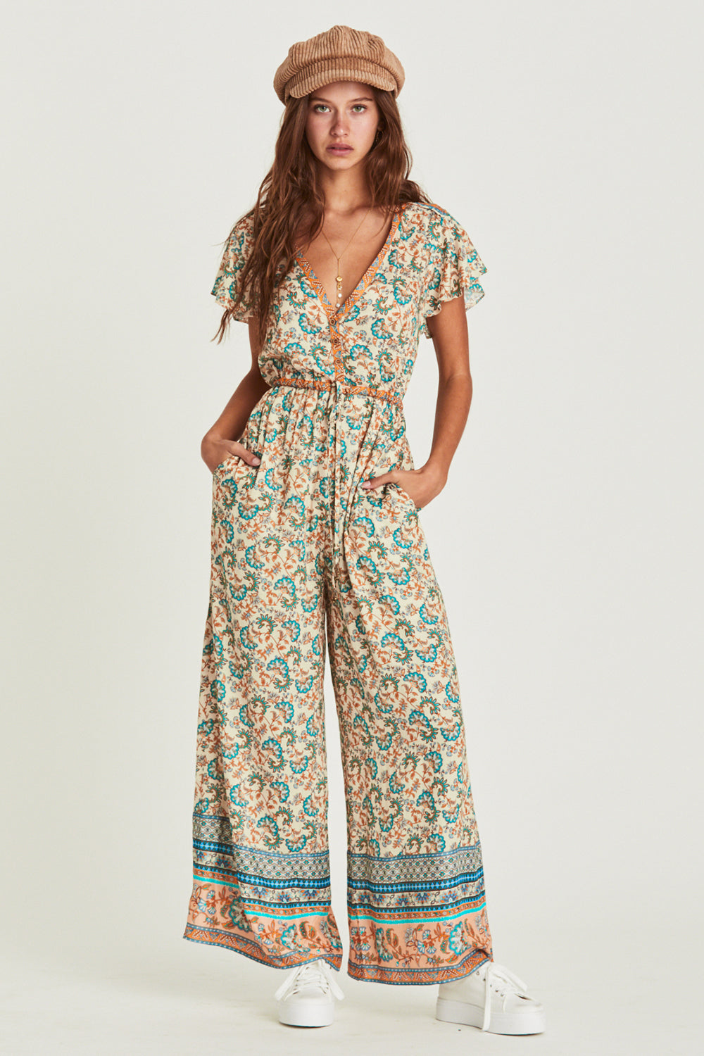 Amelie Jumpsuit in Provence
