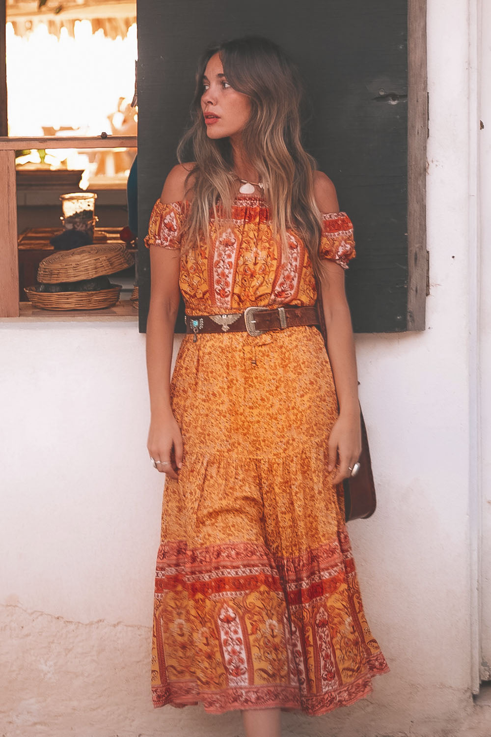 Island Sundress in Mimosa
