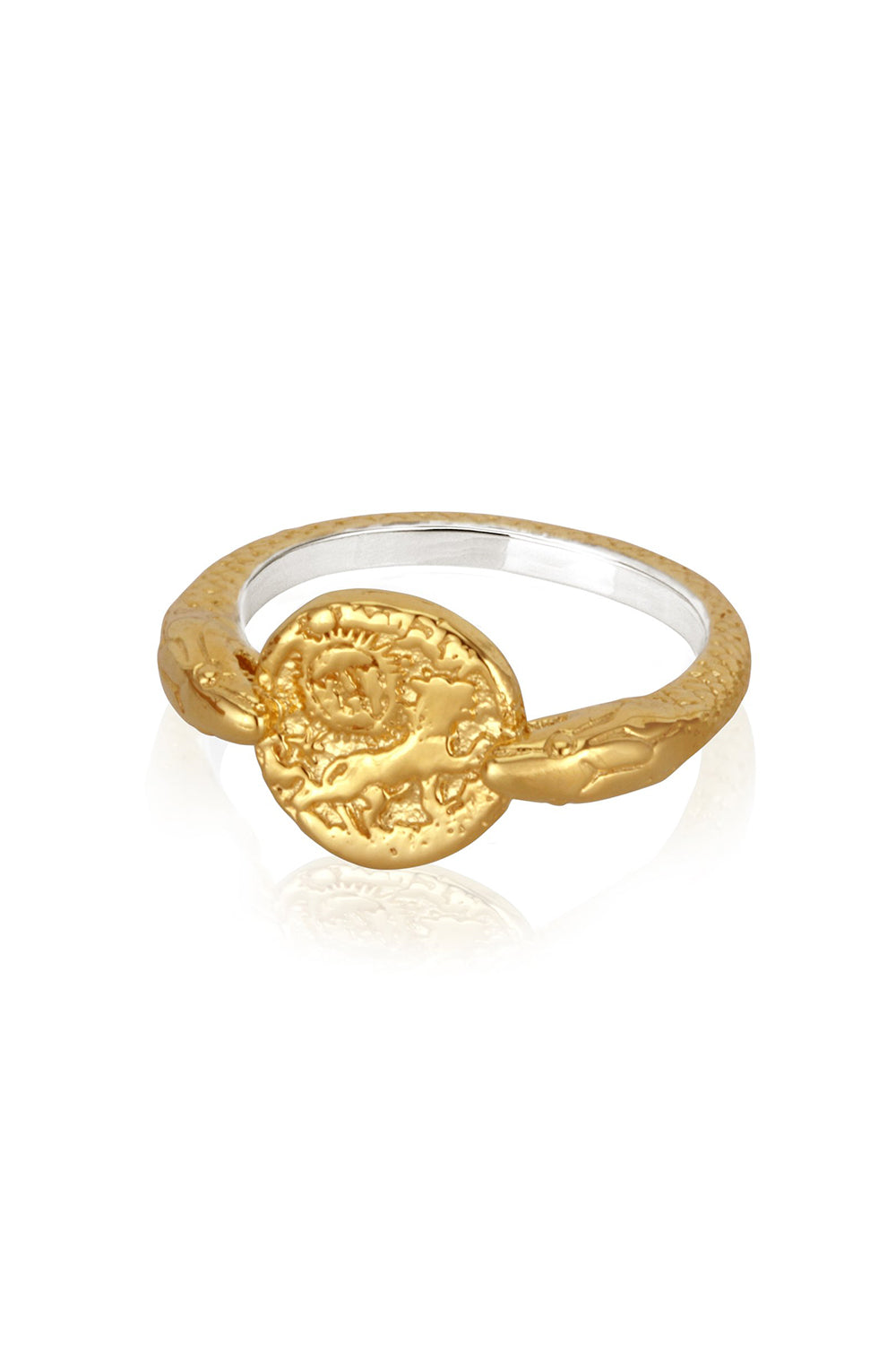 Temple of the Sun ~ Aria Ring Gold