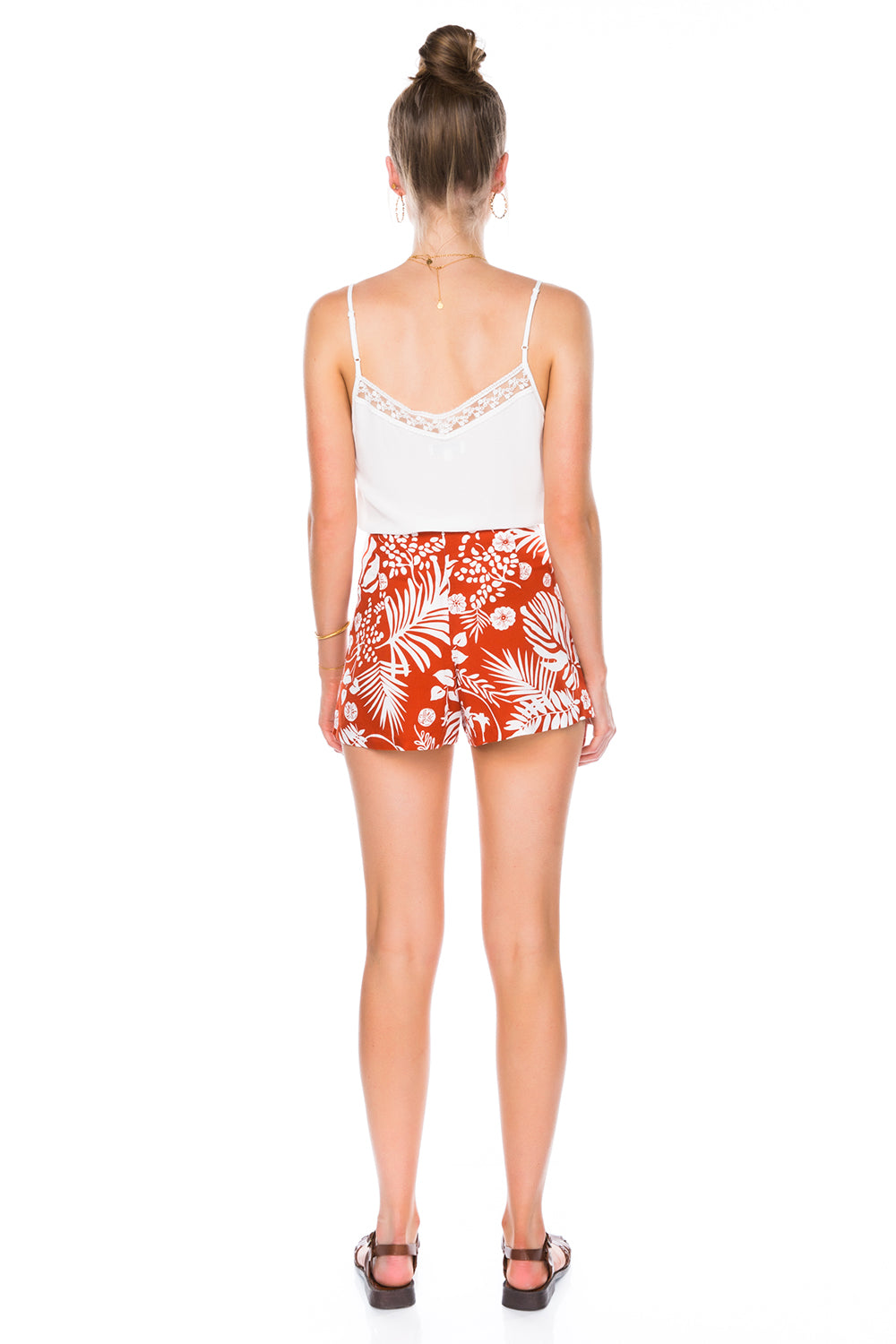 Nala Short in Papaya