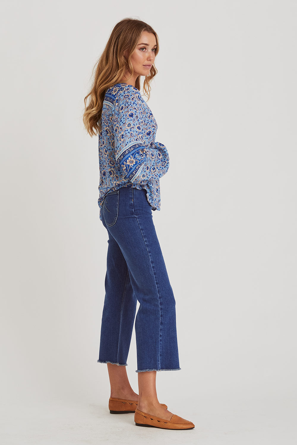 Esmee Blouse in Lakeside