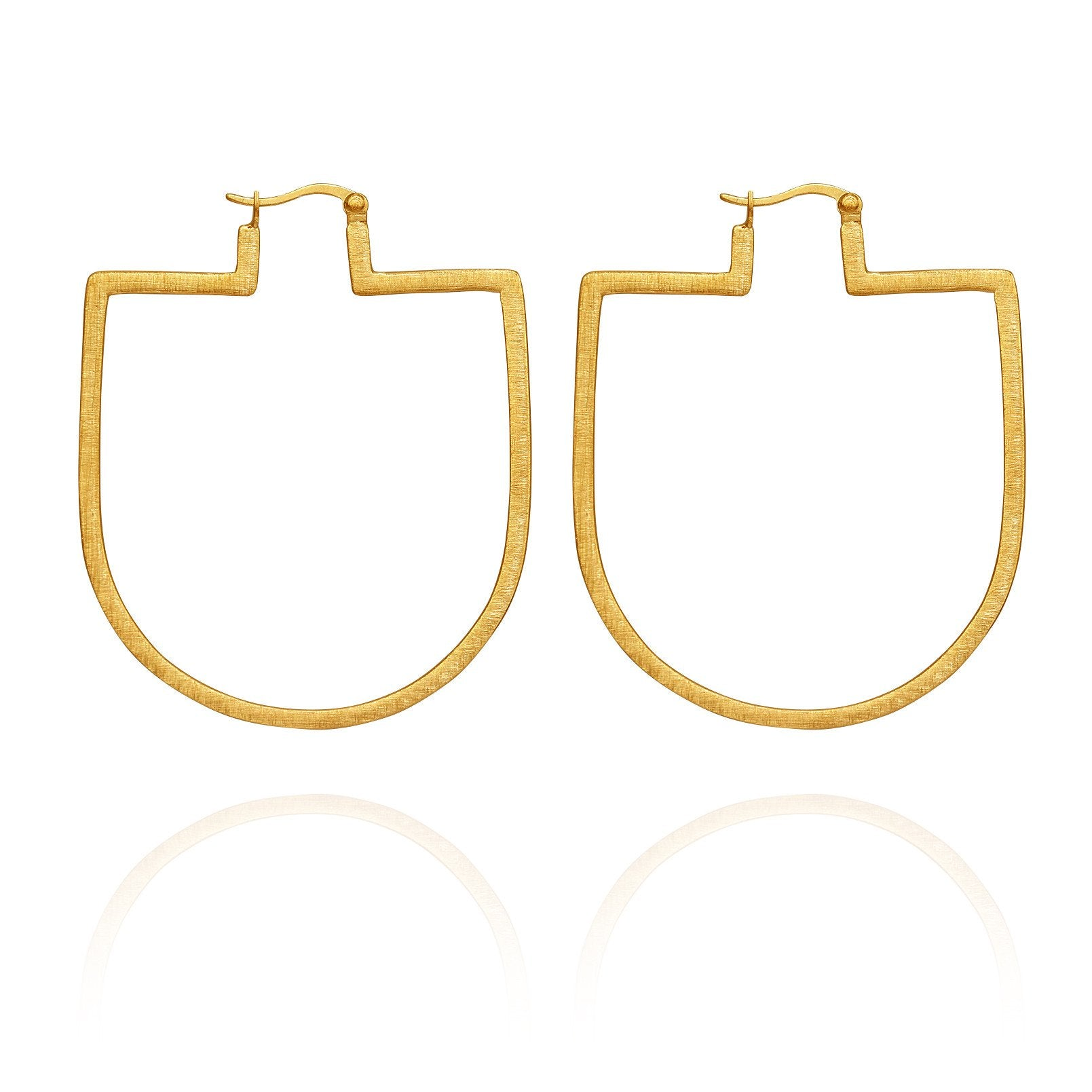 Temple of the Sun ~ Bea Earrings Gold