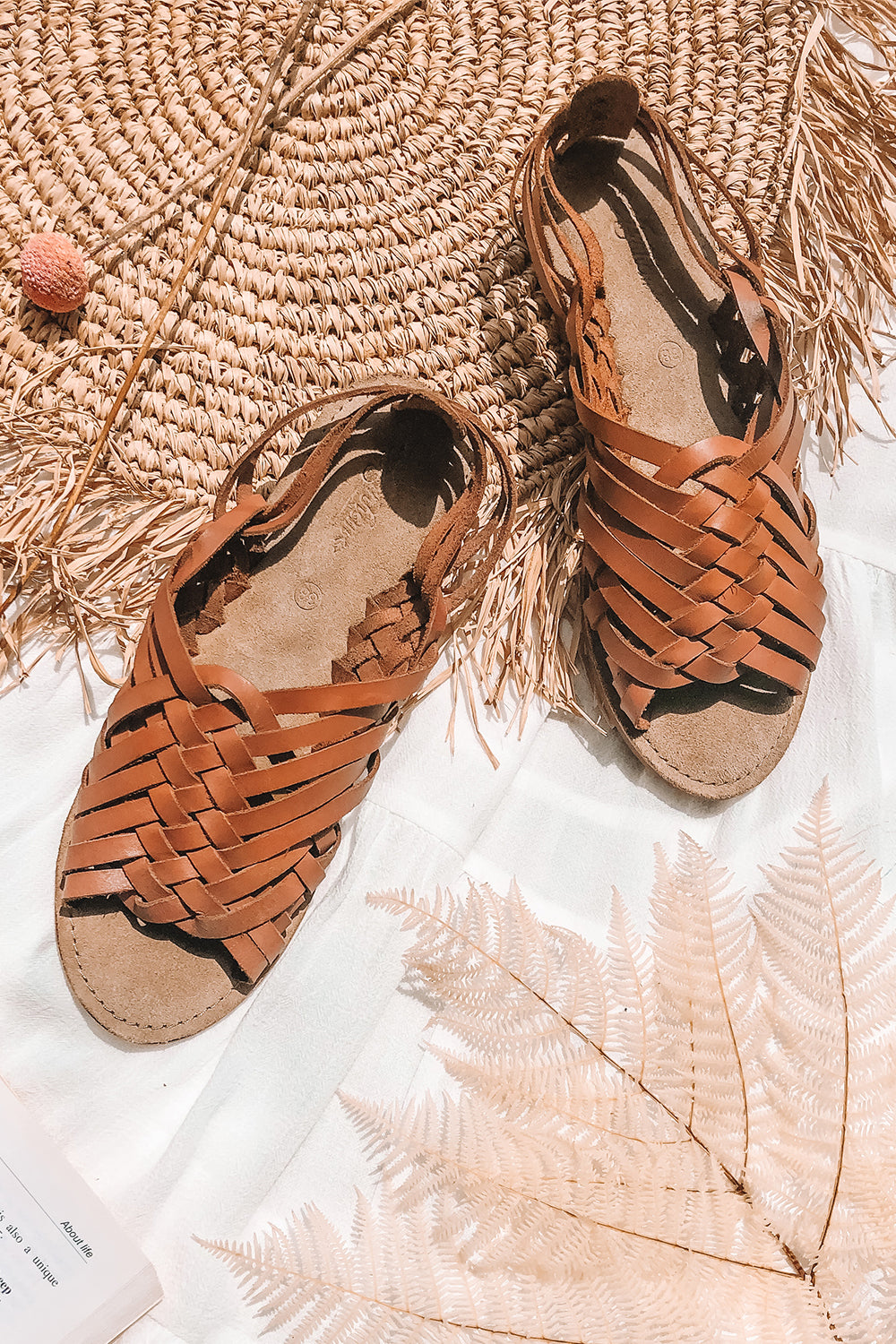Belli Sandal in Walnut