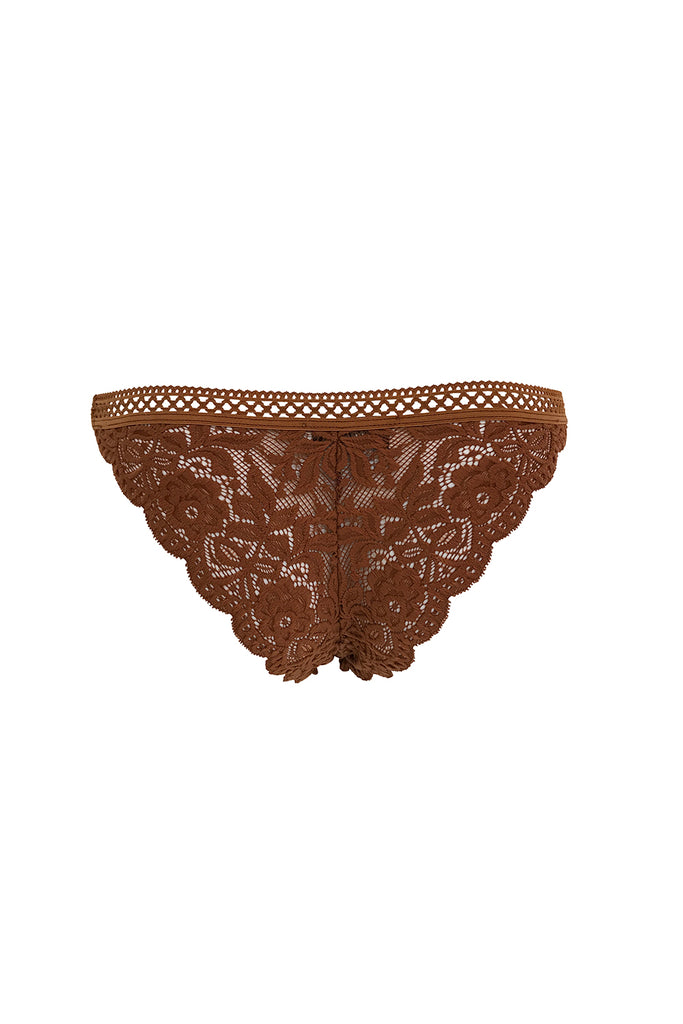 Sierra Knickers in Rust