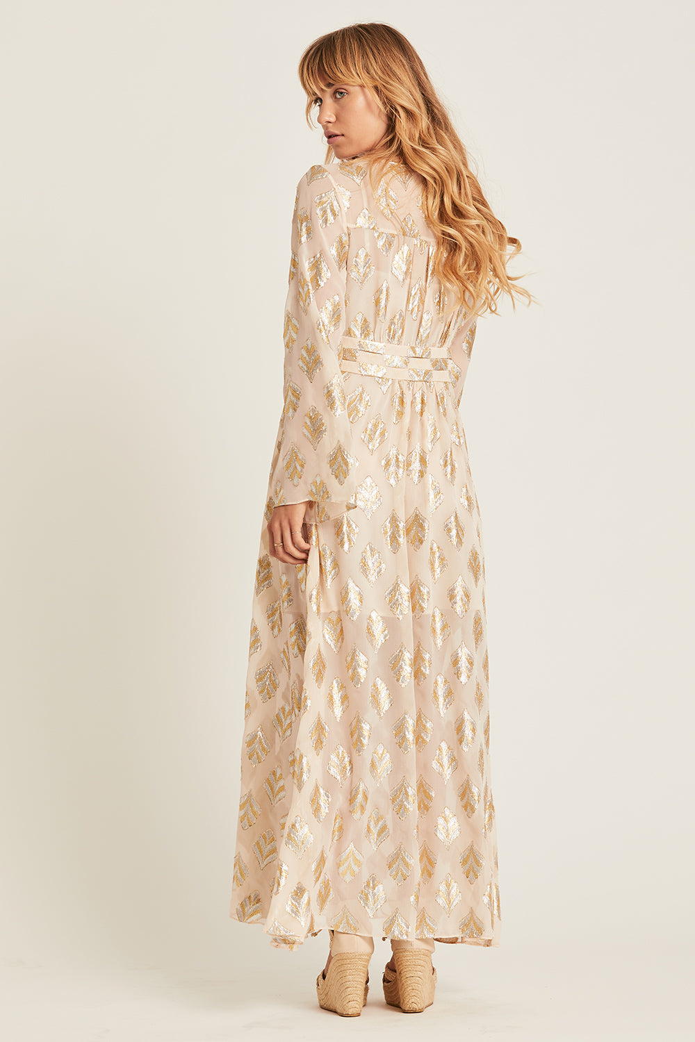 Celeste Maxi Dress in Crescent
