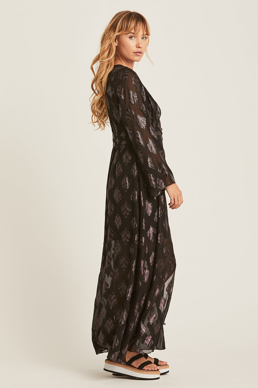 Celeste Maxi Dress in Eclipse