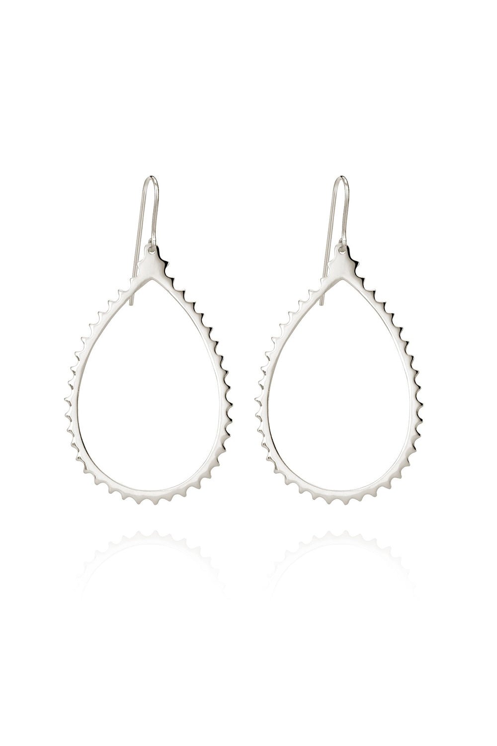 Temple of the Sun ~ Casandra Earrings Silver