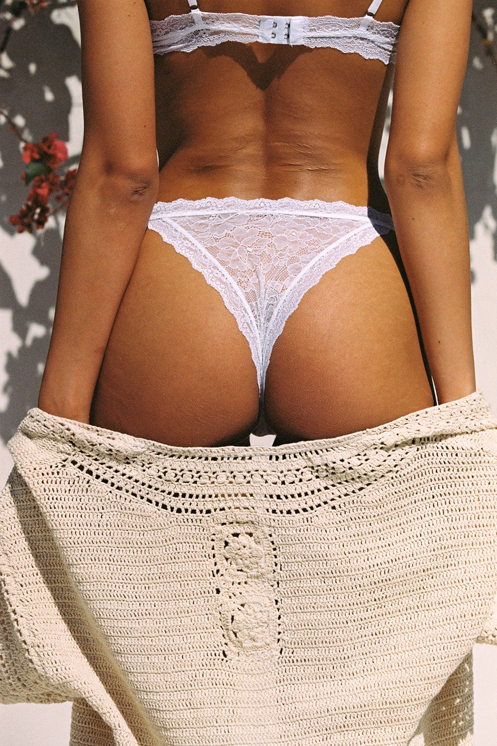 Faith Cheeky Knickers in White