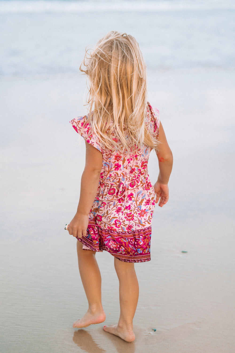Daisy Chain Kiddies Dress in Candy
