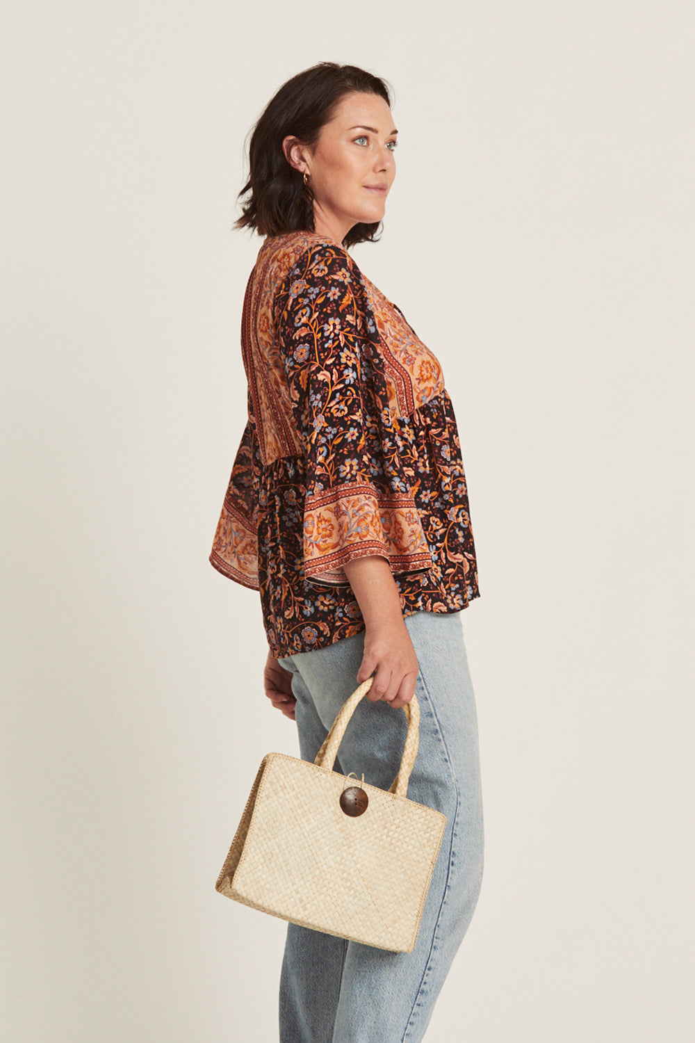 Daisy Chain Blouse in Amber