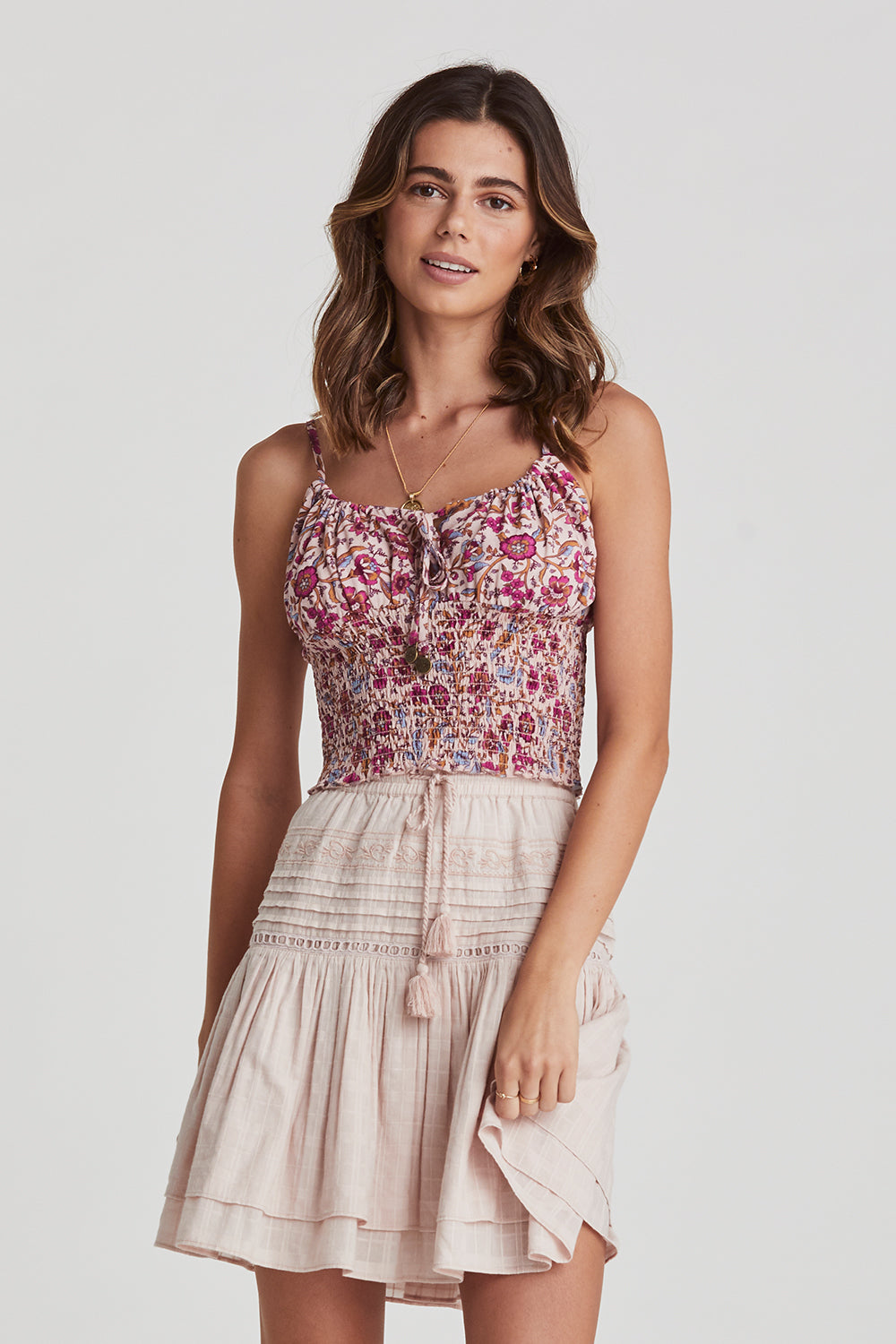 Daisy Chain Cami in Candy
