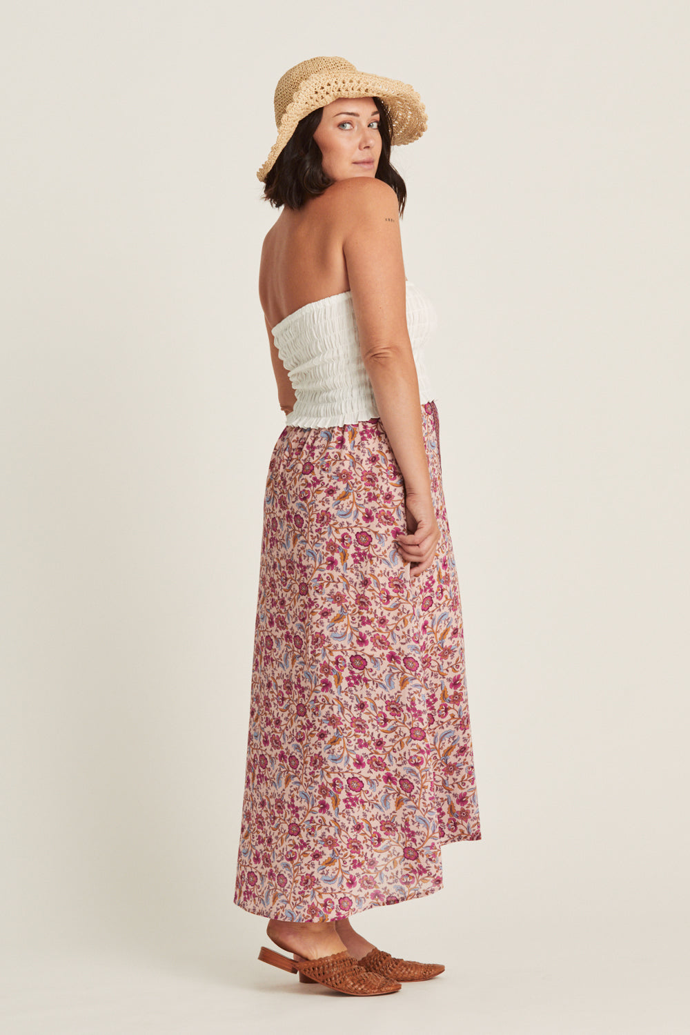 Daisy Chain Skirt in Candy