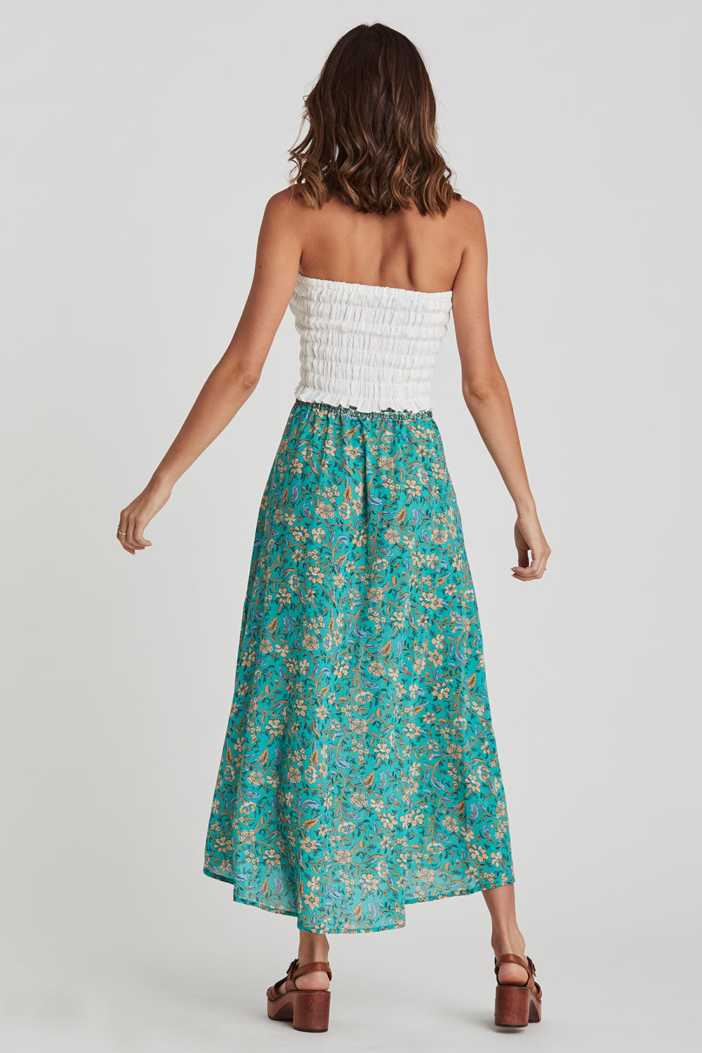 Daisy Chain Skirt in Poolside