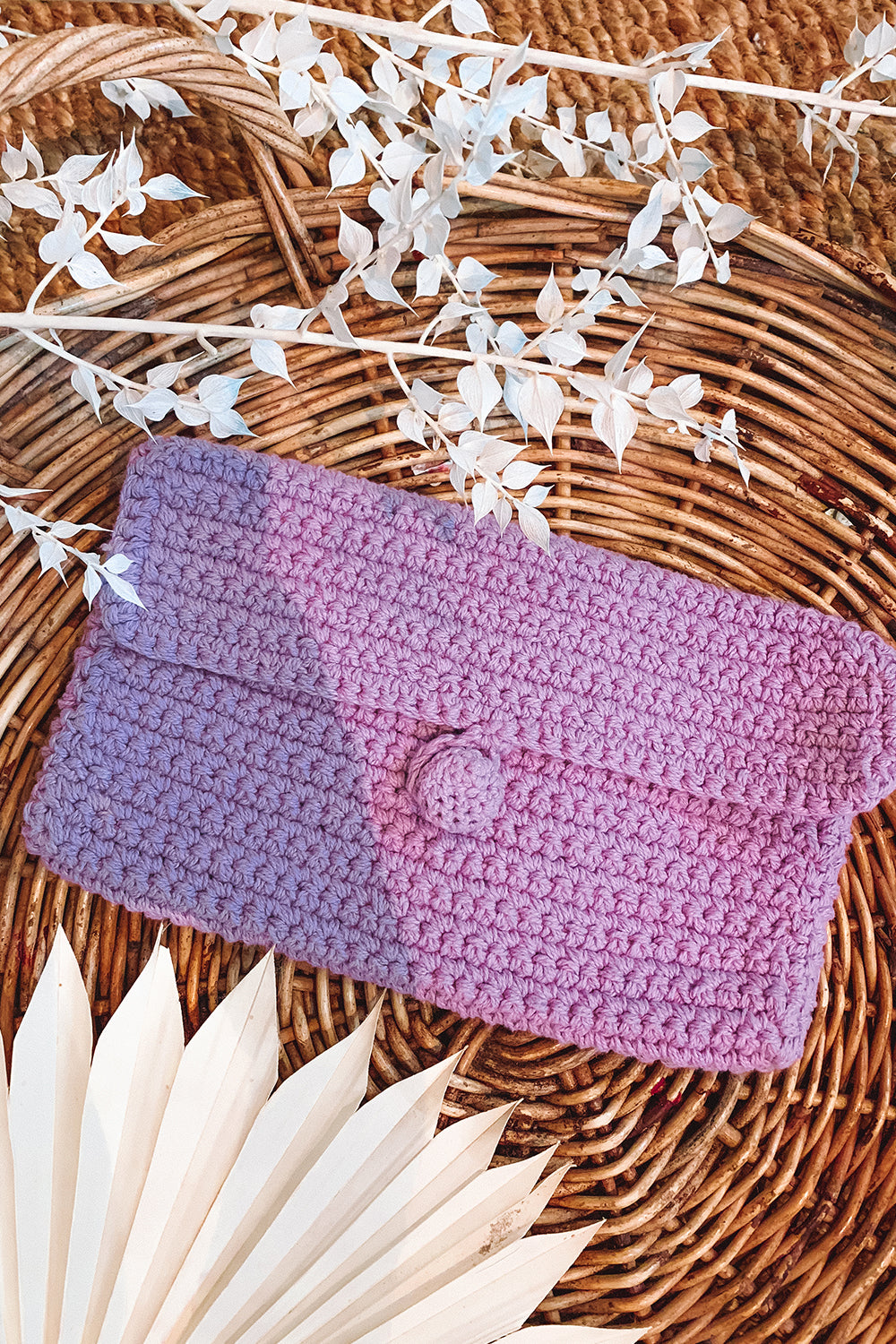 Delilah Purse in Lavender