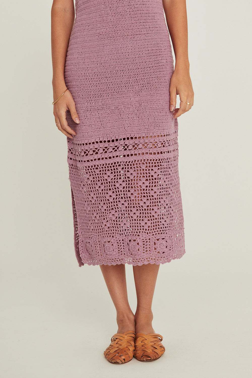Delilah Dress in Lavender