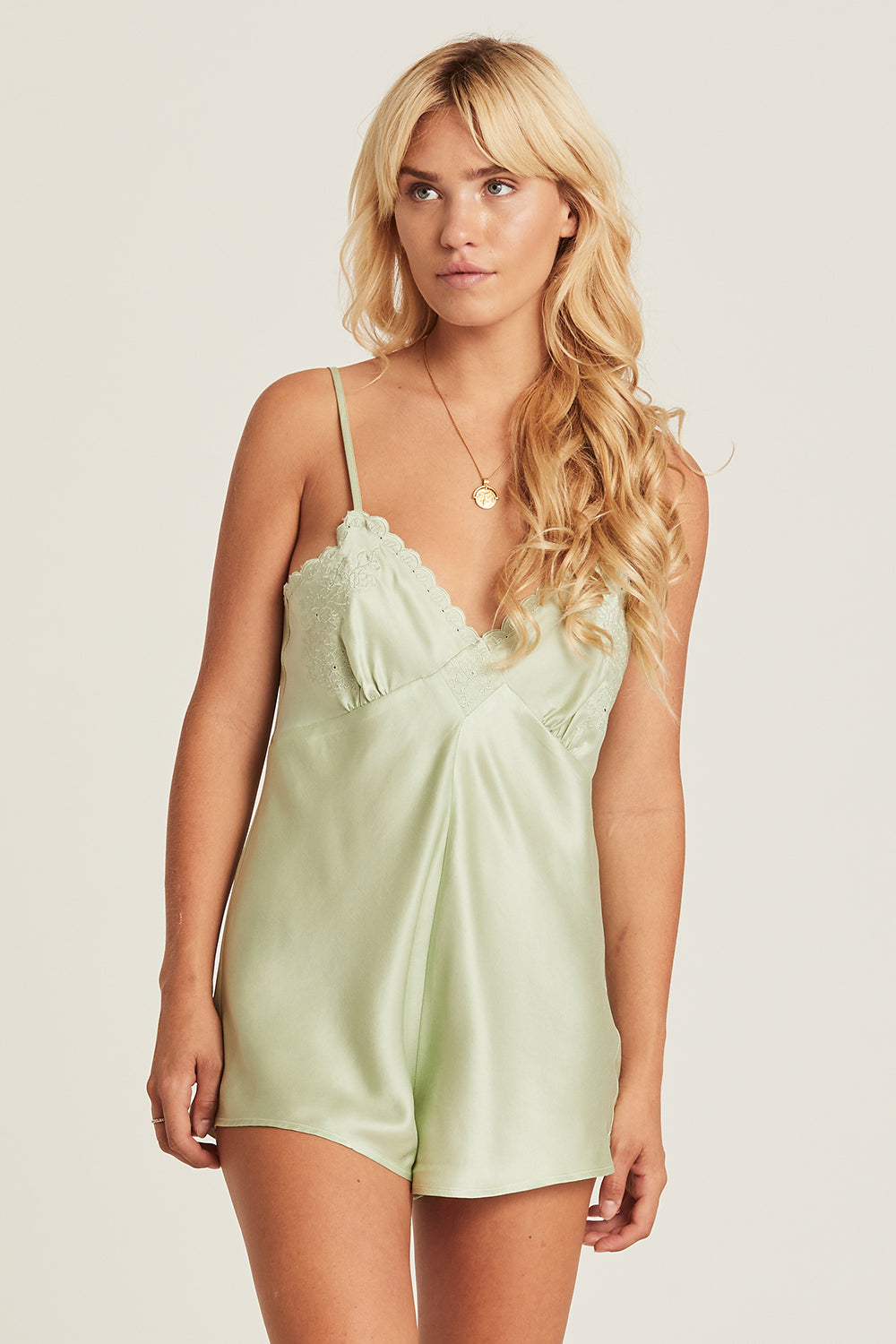 Eleanor Playsuit in Sage