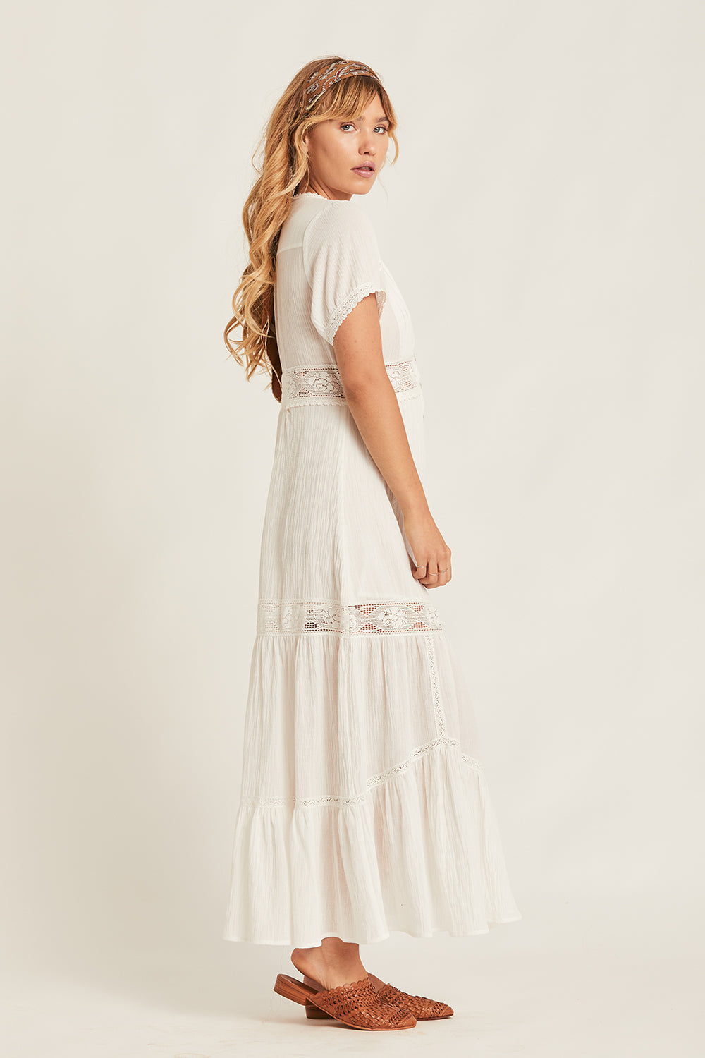 6543468312 Bliss Maxi Dress in Cloud - Arnhem Clothing