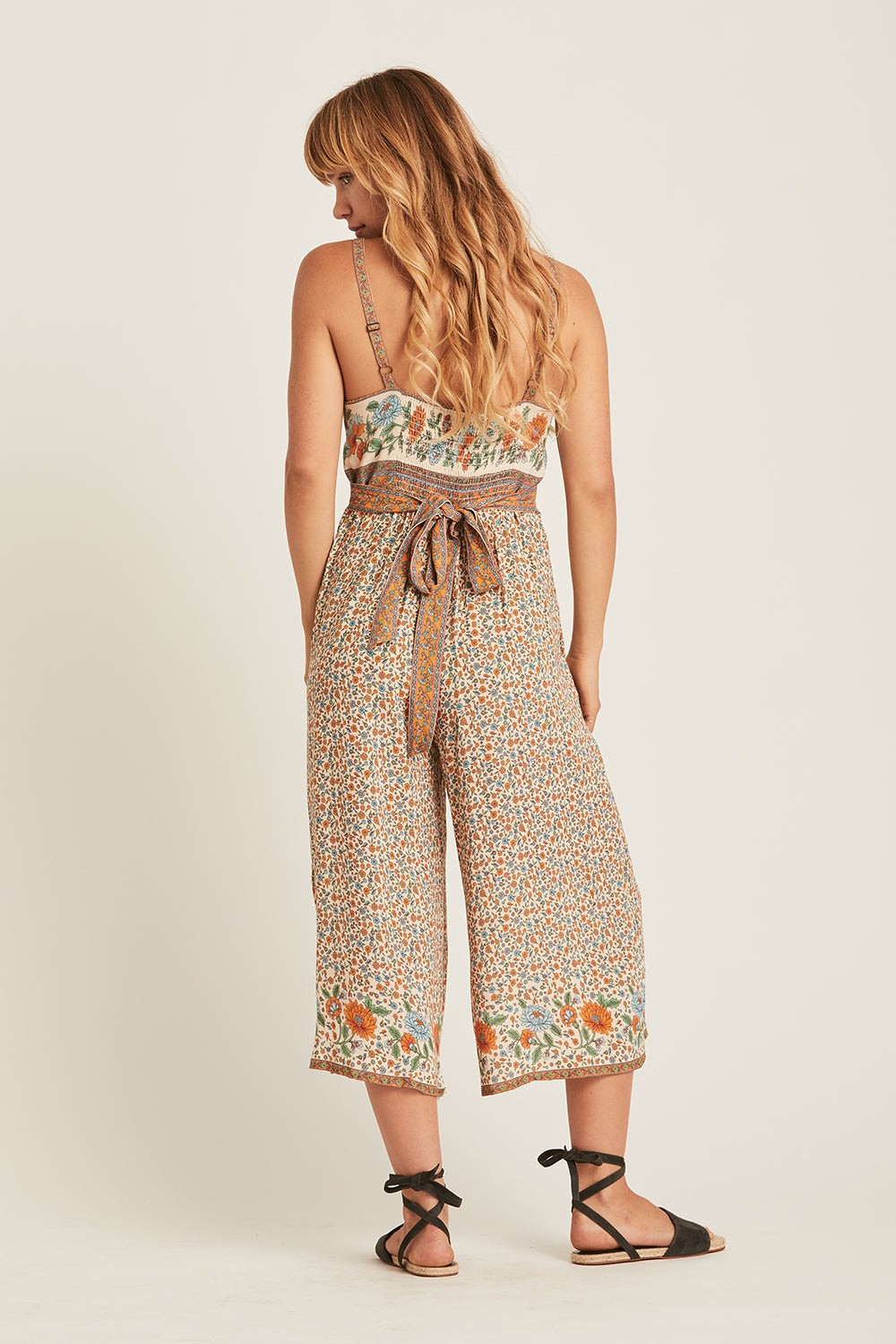 Ophelia Jumpsuit in Tango