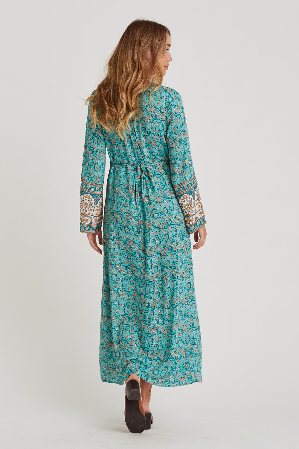 Fleetwood Duster Dress in Greenfields