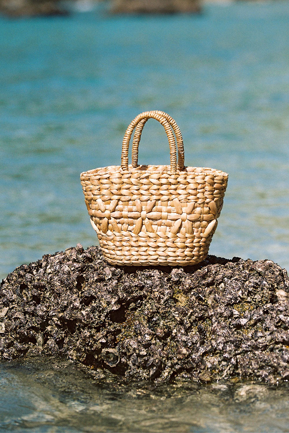 Frida Straw Bag in Natural
