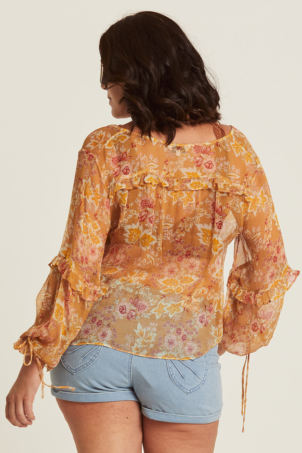 Grace Blouse in Honeysuckle