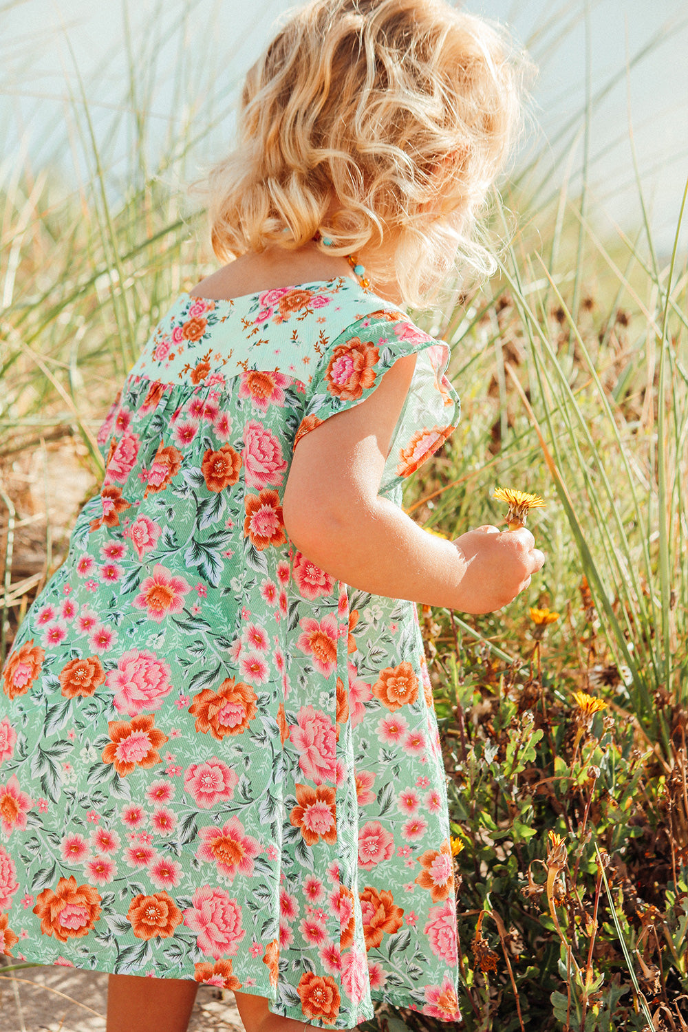 Harmony Kiddies Dress in Mint