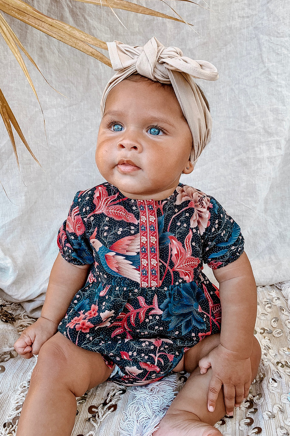 Ilona Baby Romper in Twilight