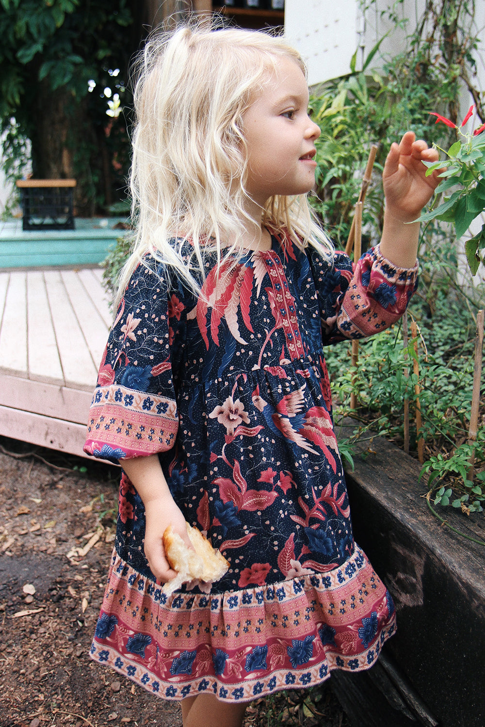 Ilona Kiddies Dress in Twilight