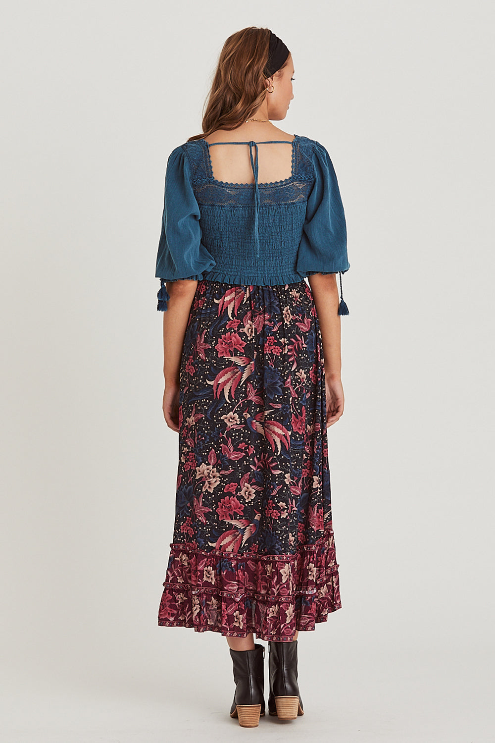 Ilona Midi Skirt in Twilight