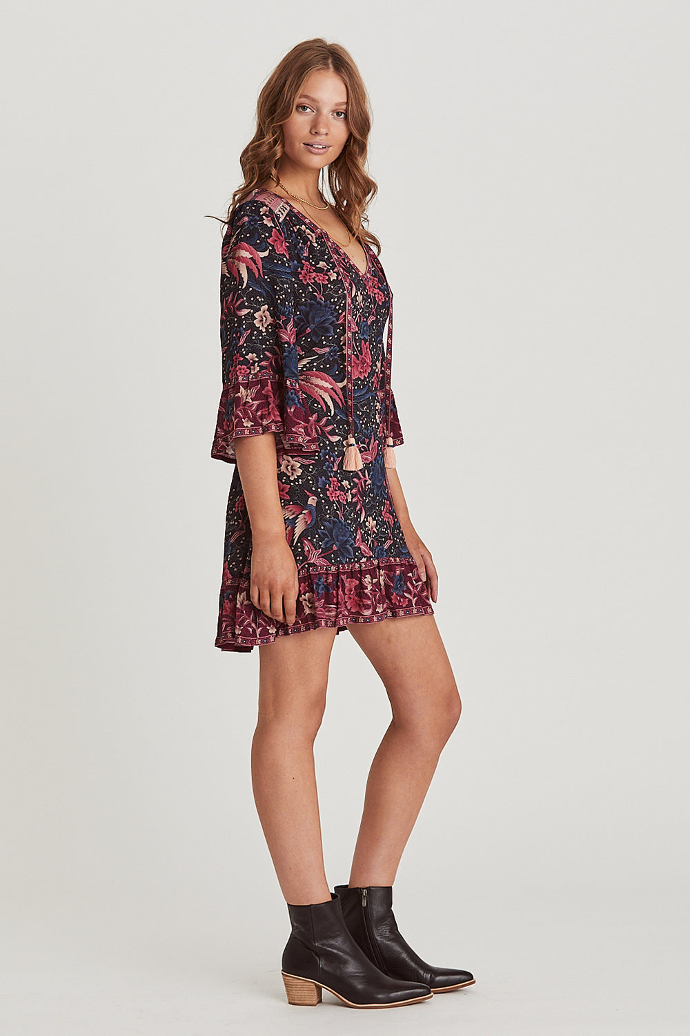 Ilona Mini Dress in Twilight
