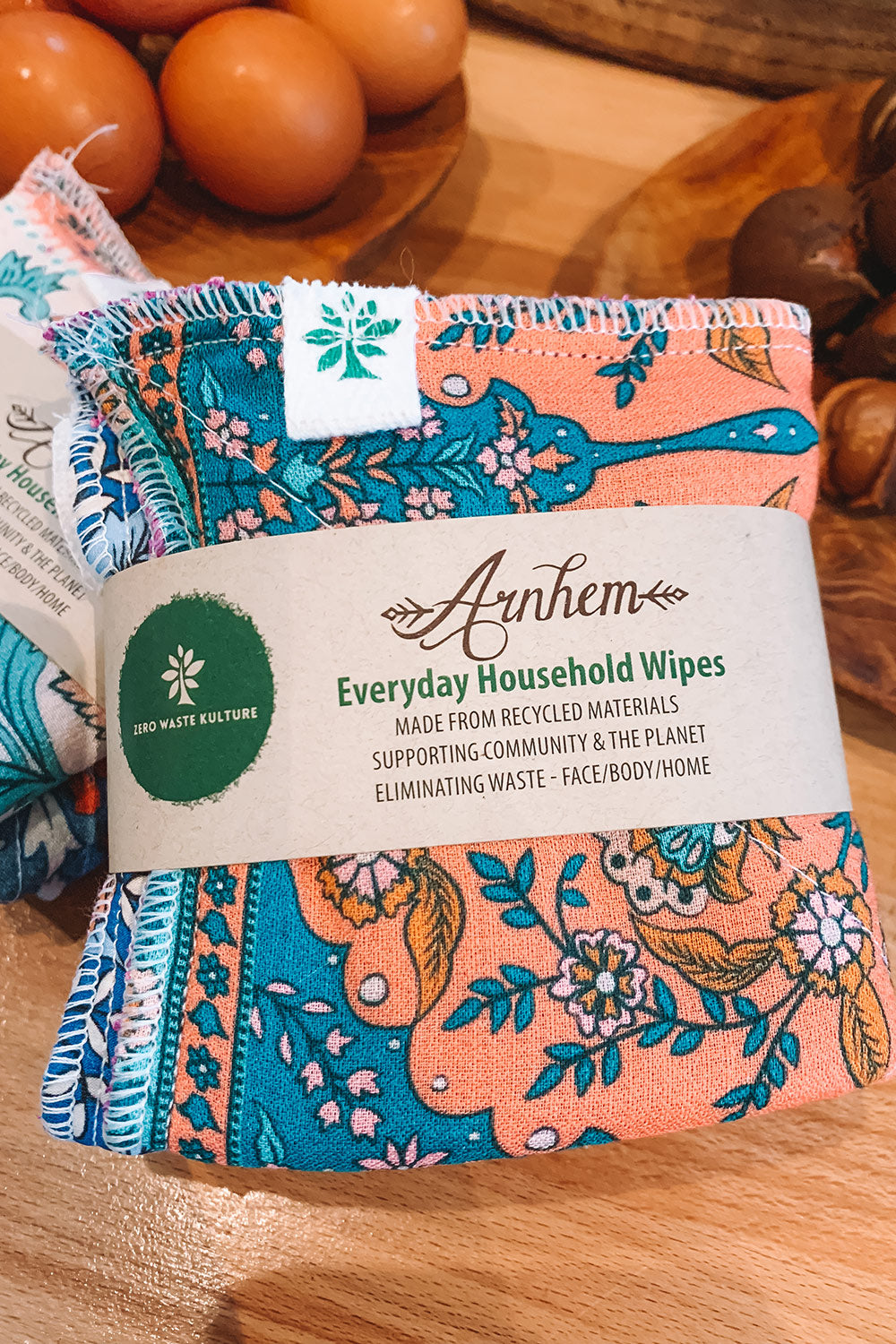Arnhem X Zero Waste Kulture House Wipes