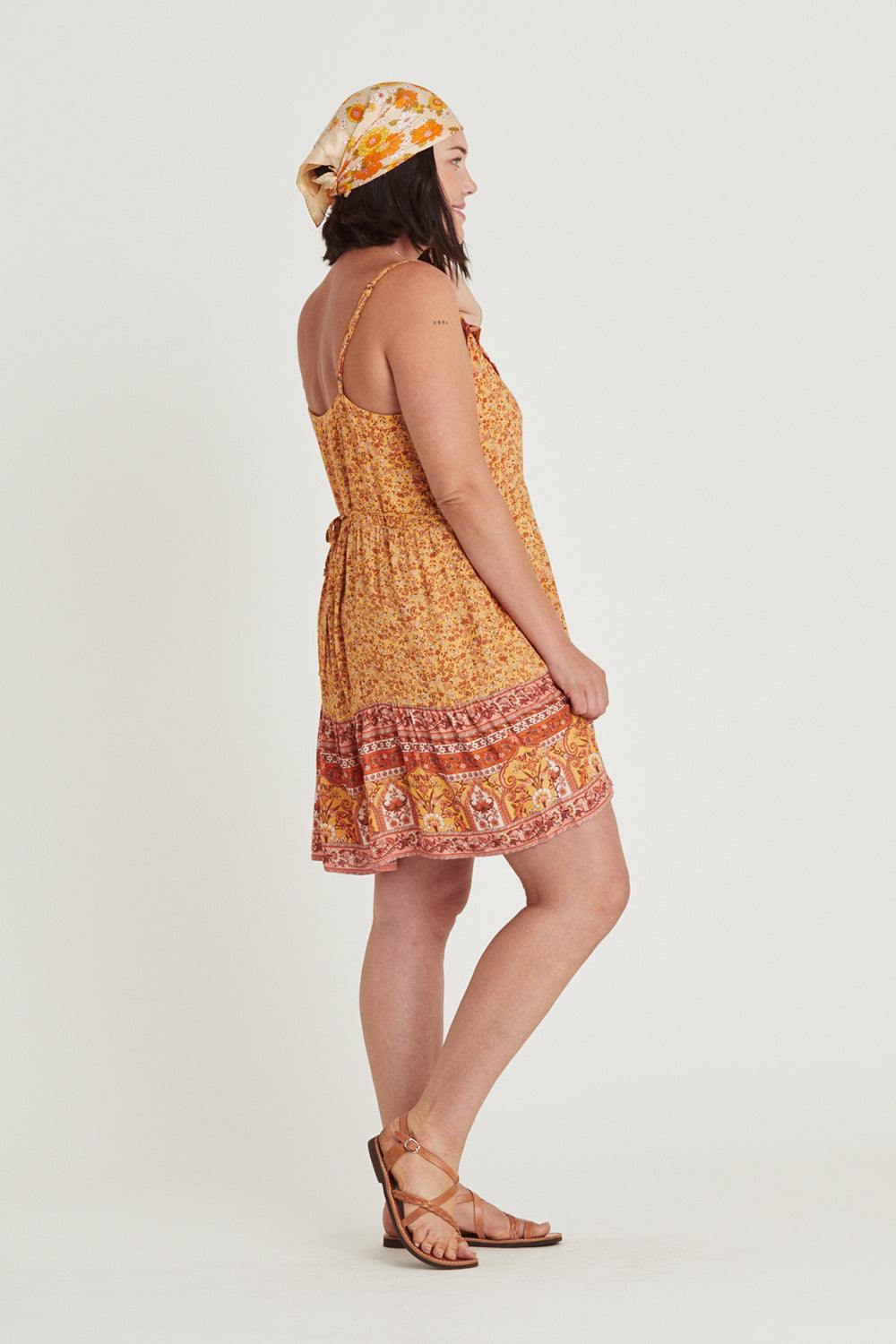 Island Mini Dress in Mimosa