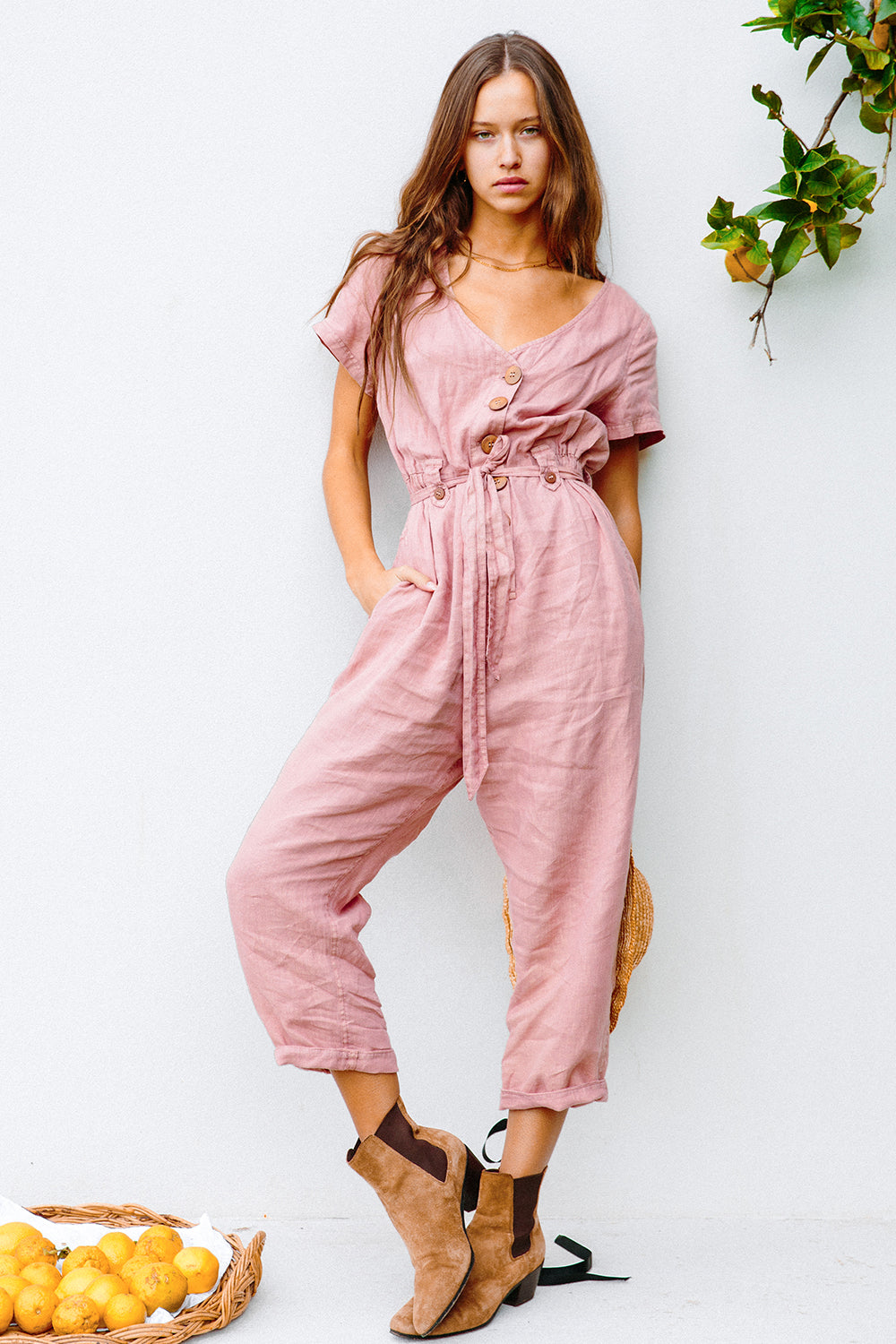 La Luna Jumpsuit in Aura