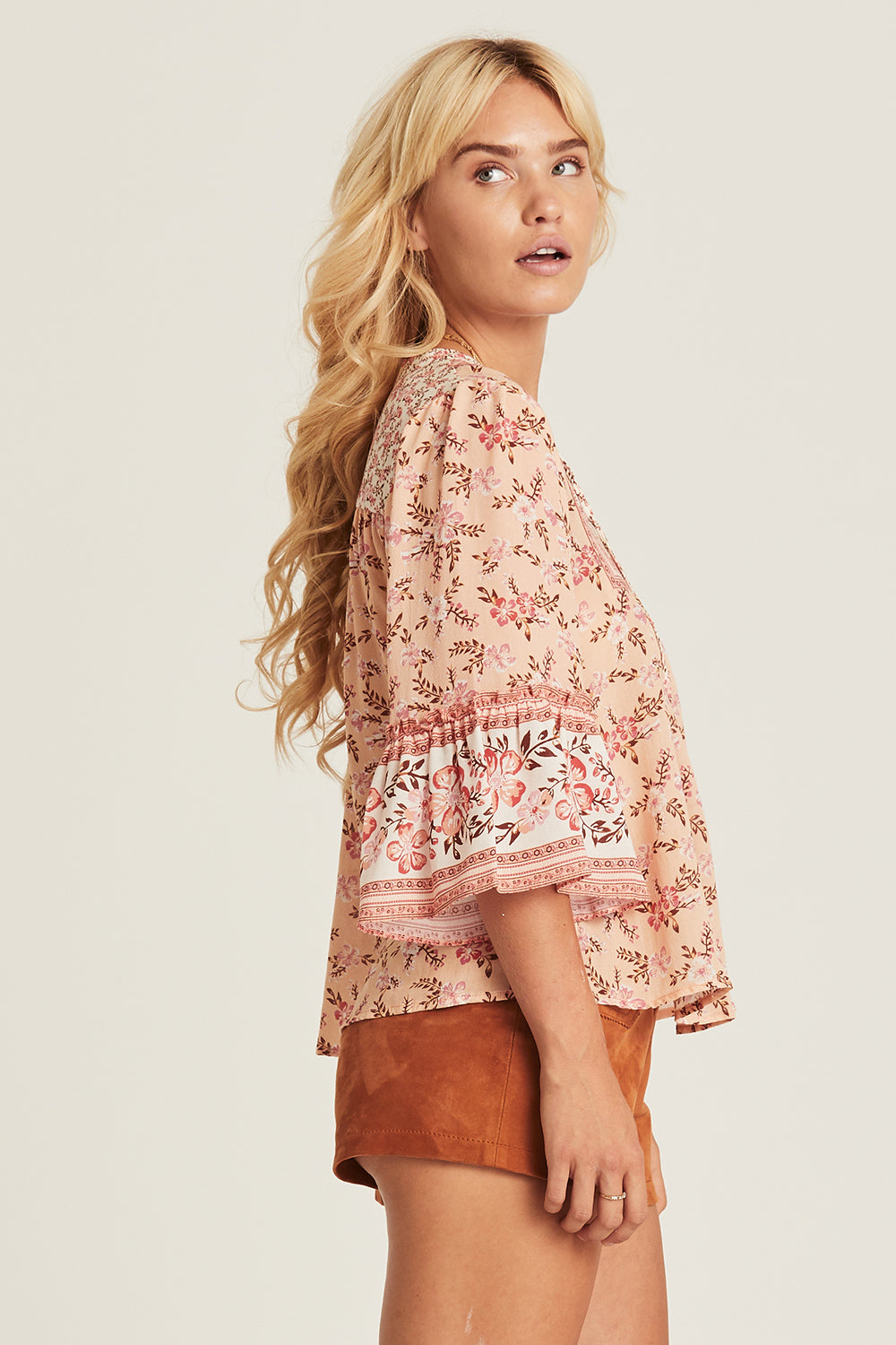 Lily Blouse in Candy