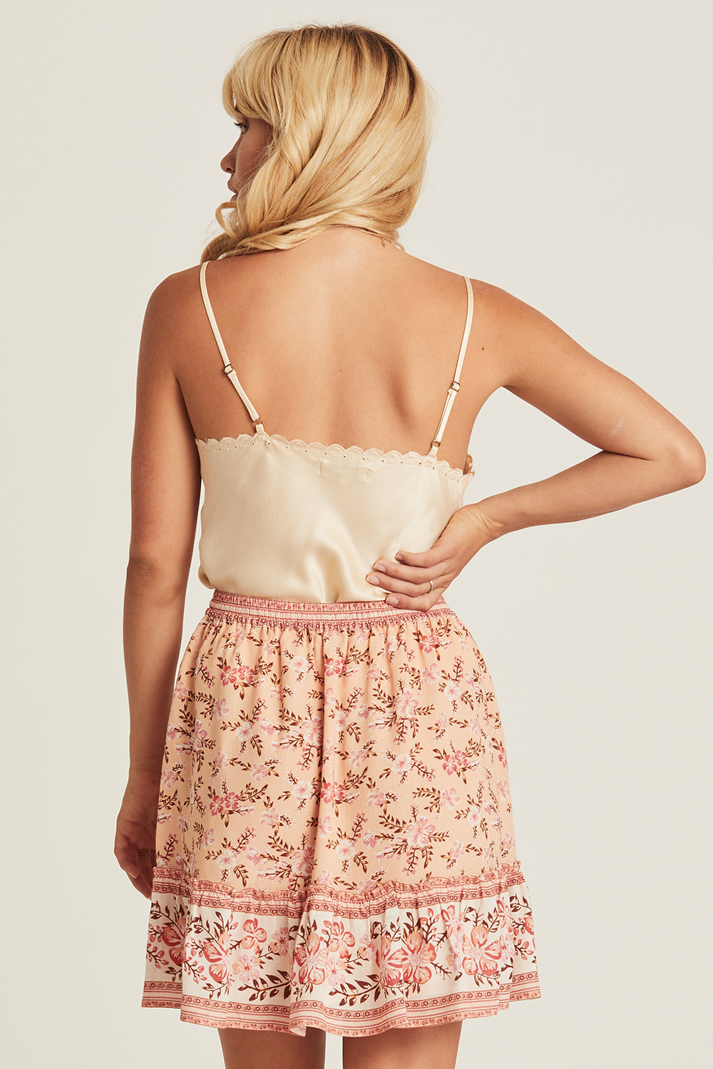 Lily Mini Skirt in Candy