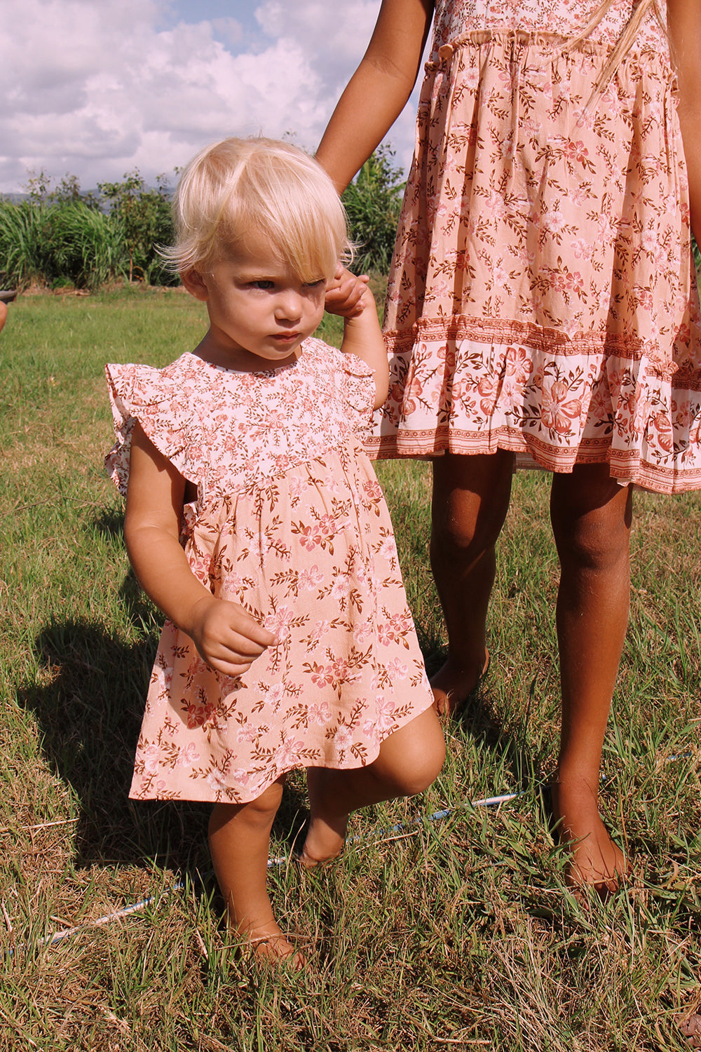 Lily Baby Dress in Candy