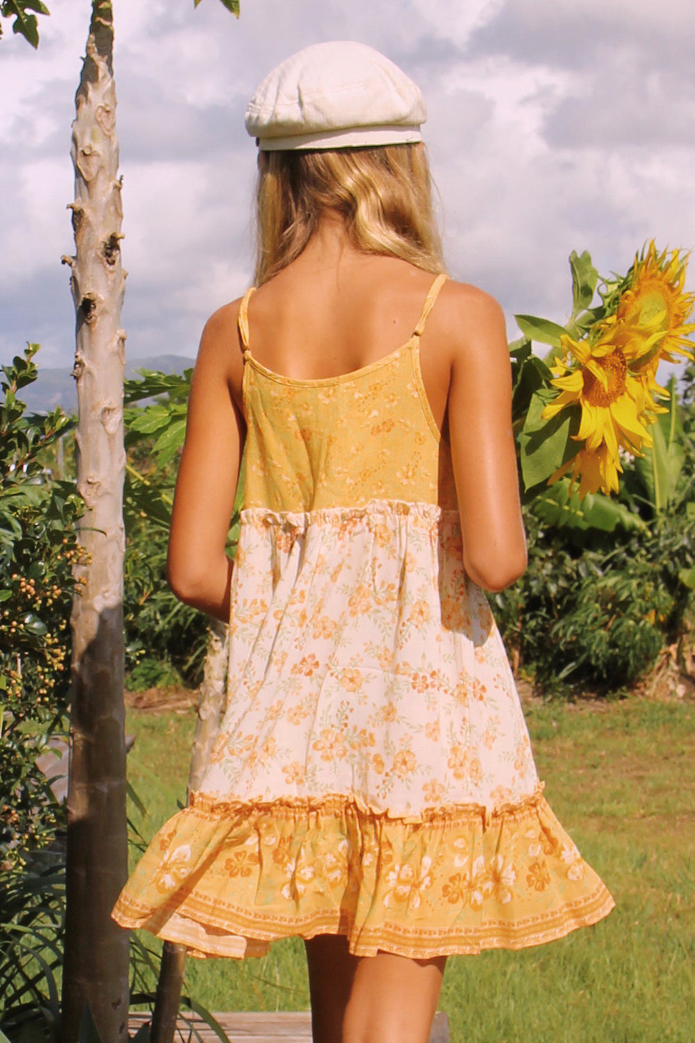 Lily Littles Dress in Lemon Drop