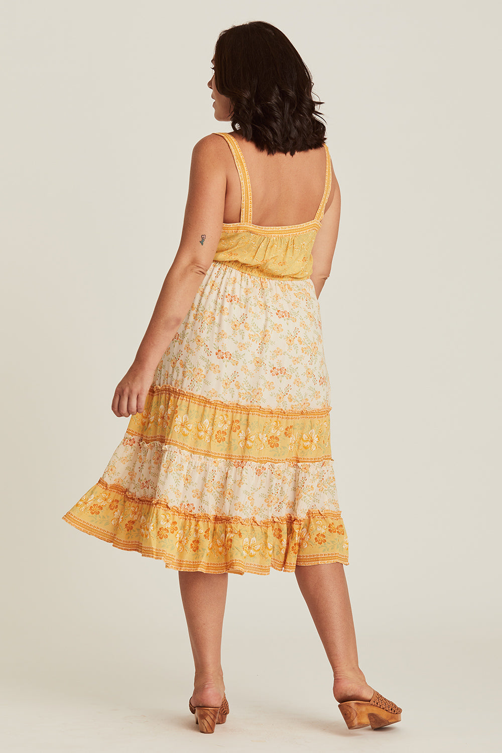 Lily Sundress in Lemon Drop