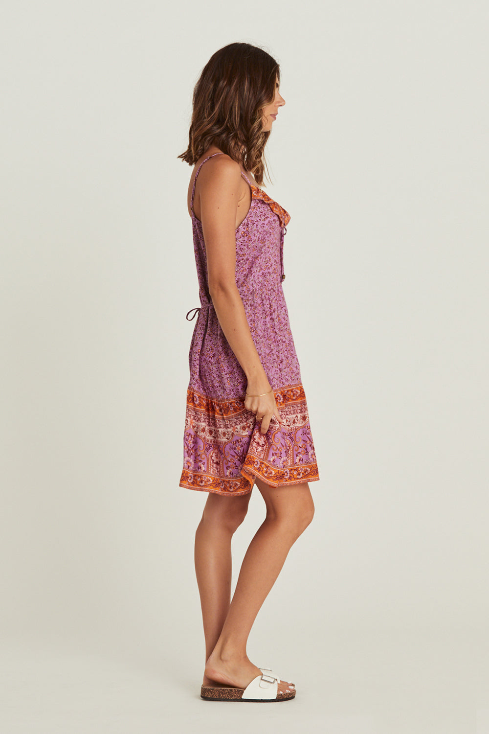 Island Mini Dress in Amethyst