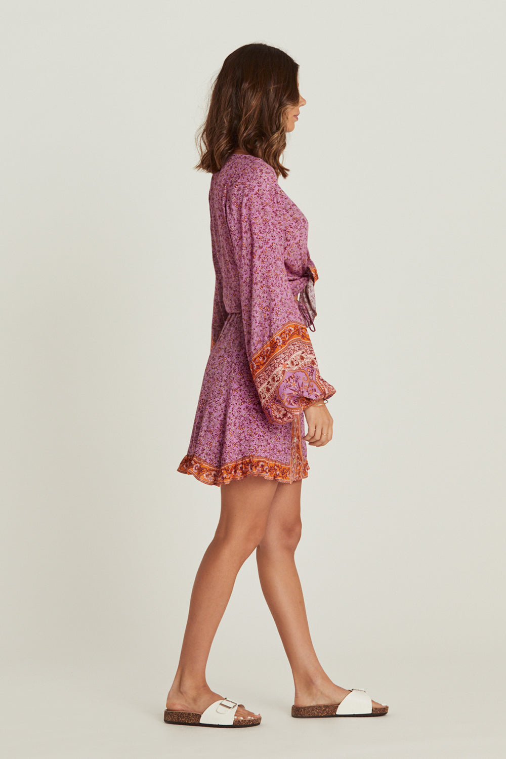 Island Mini Skirt in Amethyst