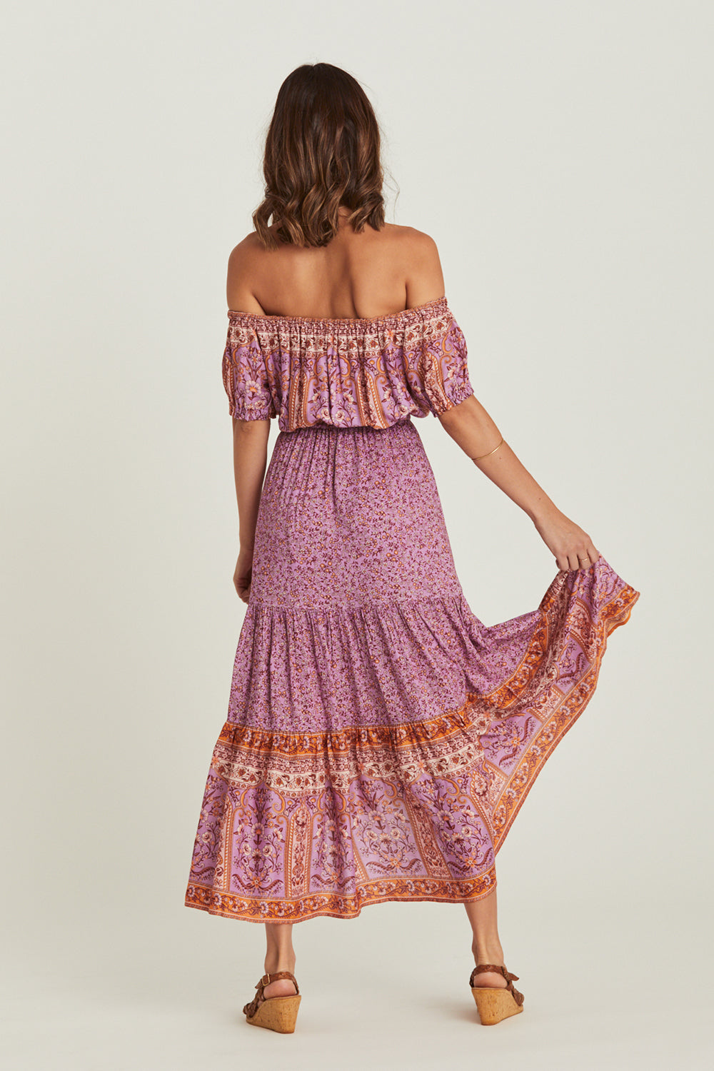 Island Sundress in Amethyst