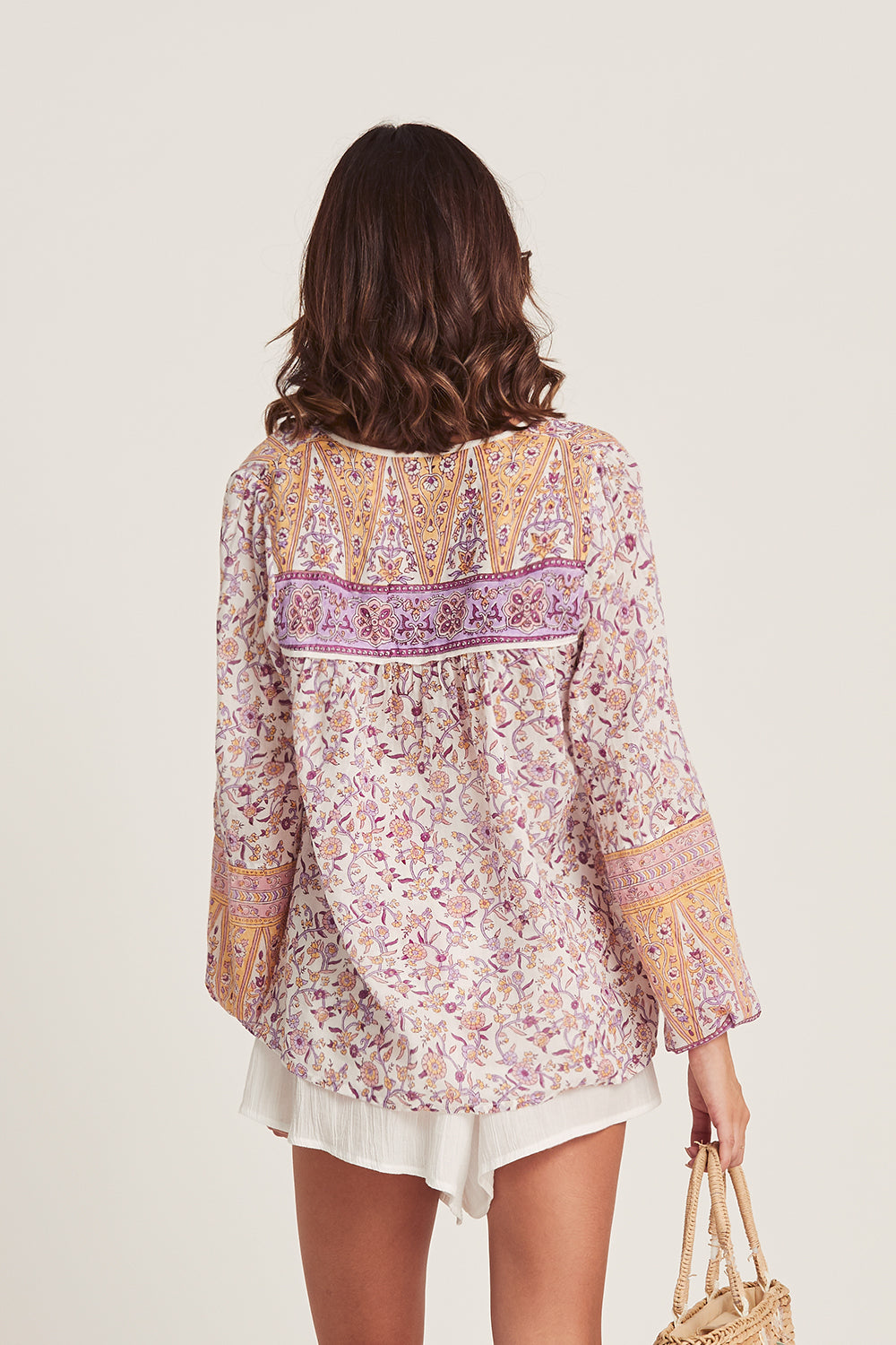 Lucia Blouse in Lilac