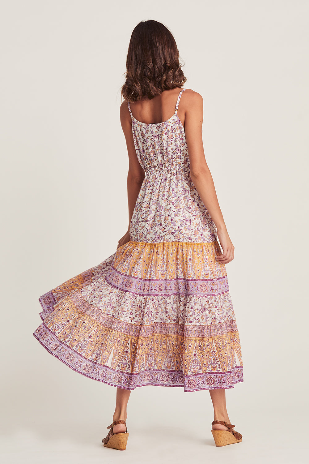 Lucia Sundress in Lilac