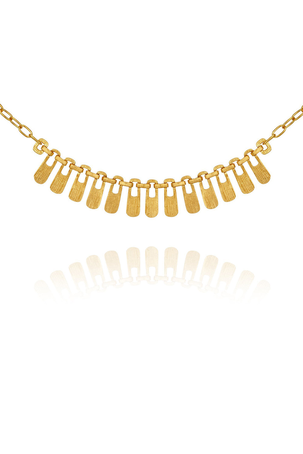 Temple of the Sun ~ Larsa Necklace Gold