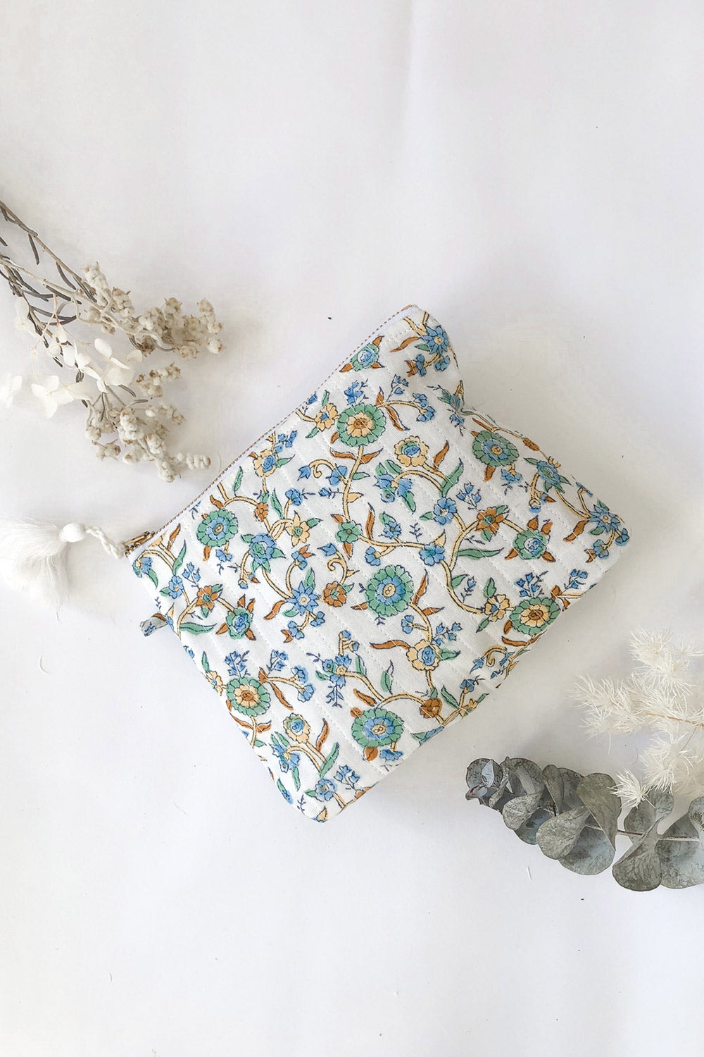 Lucia Pouch in Ocean Allover