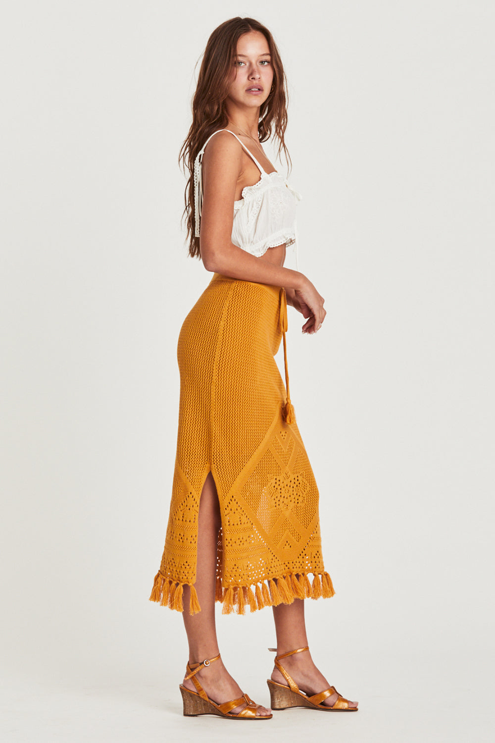 Madox Skirt in Butternut